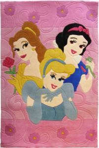 Ковёр с принцессами