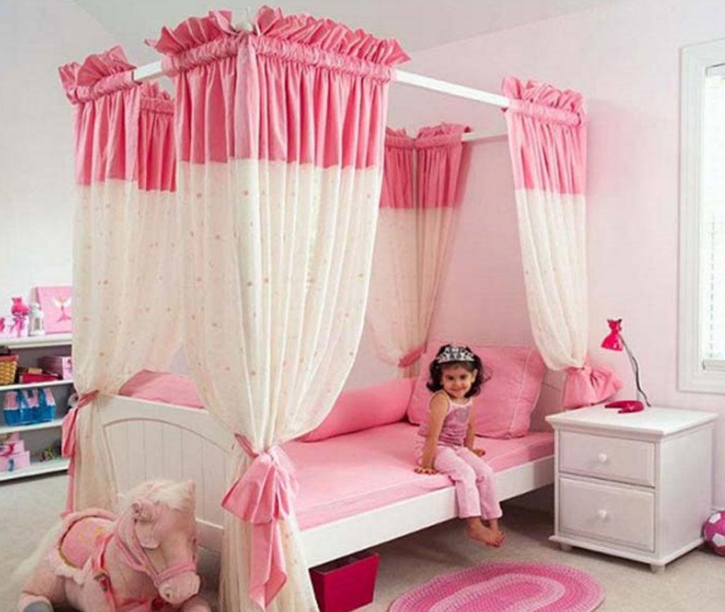 Кровать для девушки своими руками
