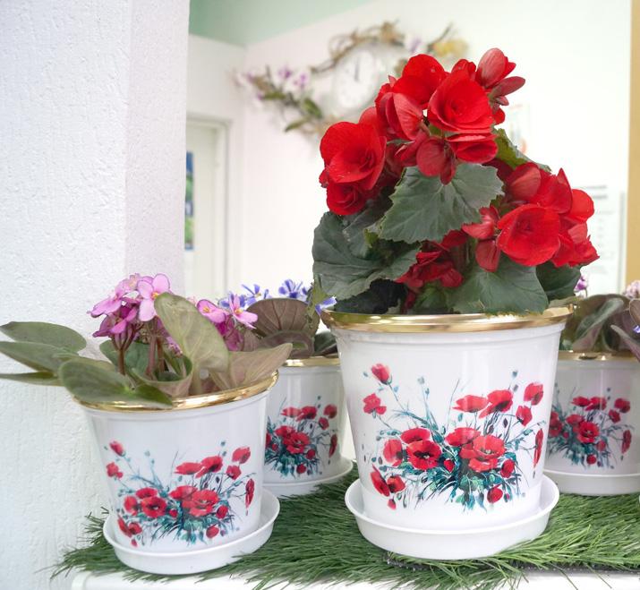 Горшочки своими руками для цветов