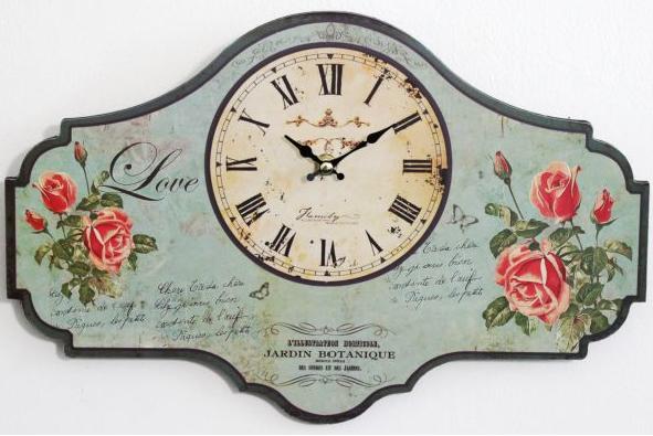Кантри часы