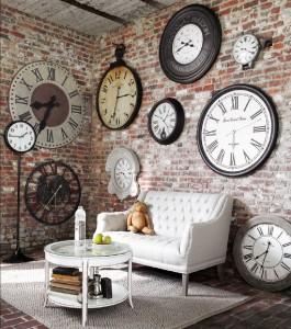 Часы в ретро стиле