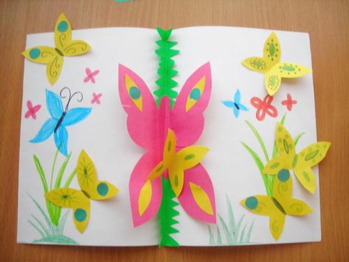 Полет бабочек