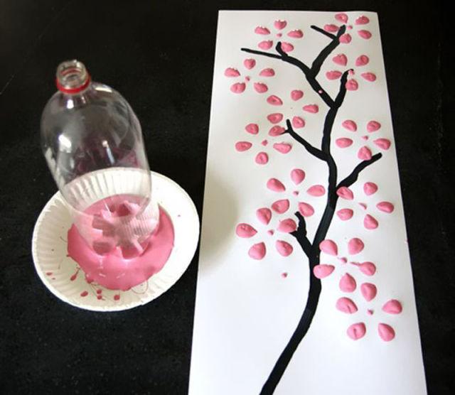 Поделки из подручных средств на день рождения маме 41