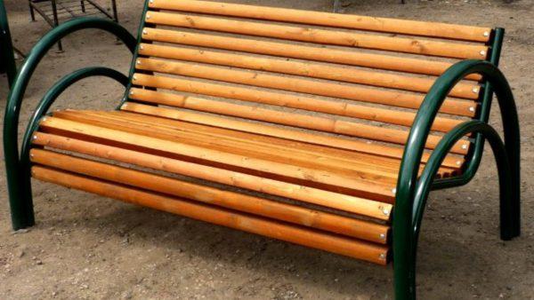 Скамейка из профильной трубы